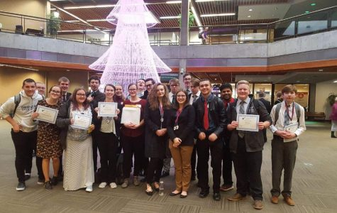 Copper Hills BAM Attends FBLA Central Region Competition