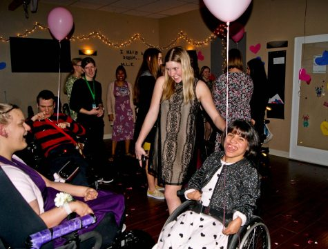 The PLT and NHS clubs were able to provide individuals with disabilities one night of normalcy.