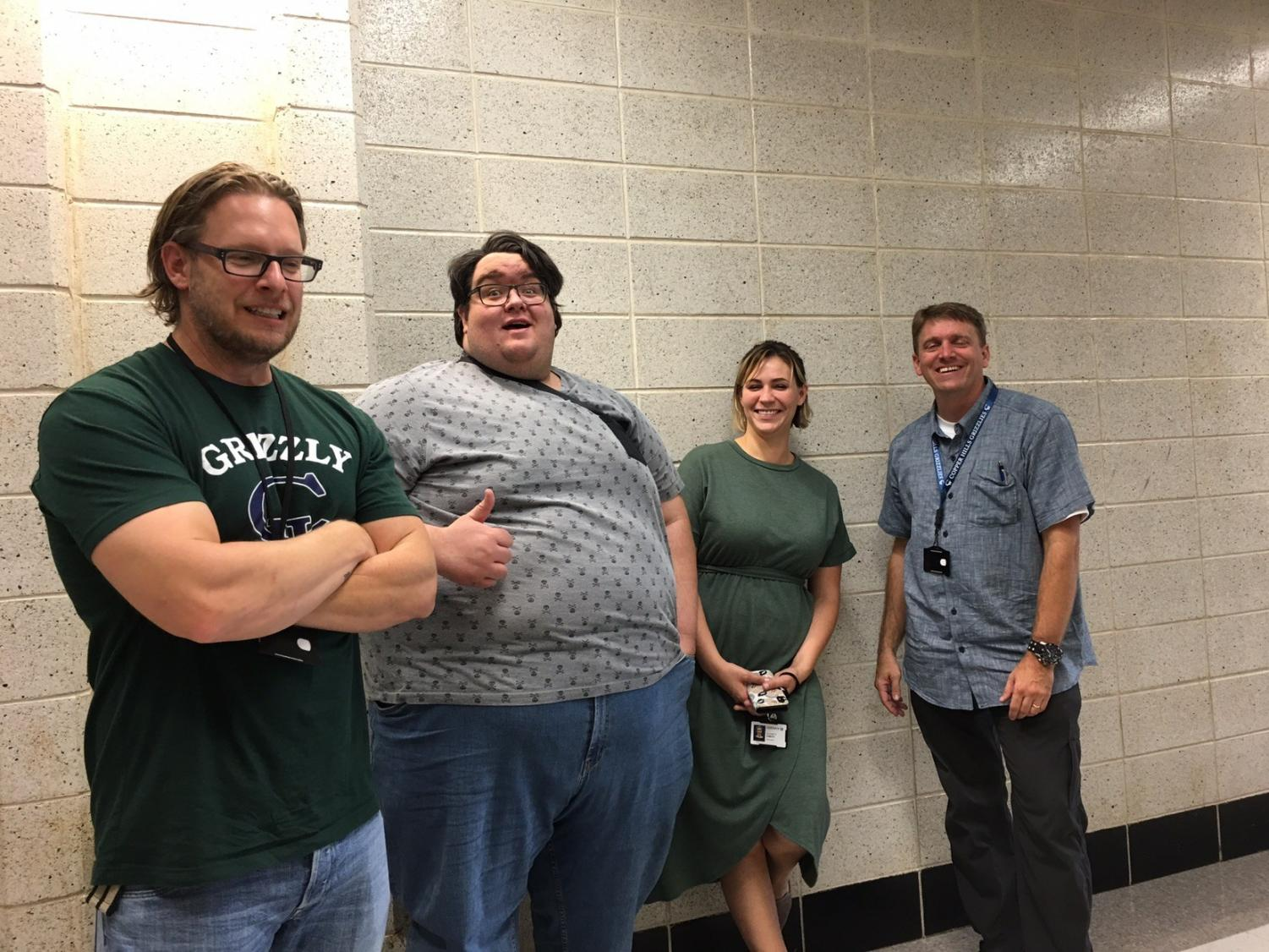 Mr. James, Mr. Atkins, Ms. Emery, and Mr. Waddoups