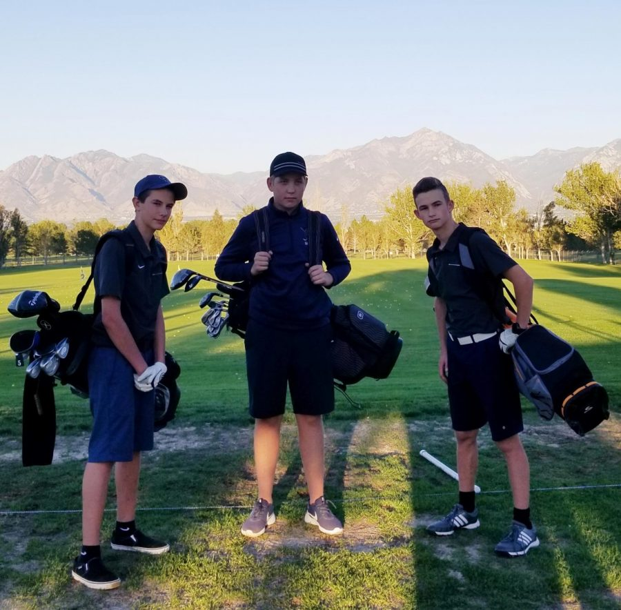 Ethan Watts, Hayden Allred, Mitchell Moore - After an up and down season   Photo by Lauren Caccavella