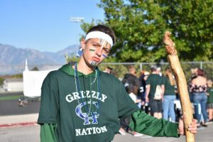 Spirit and Pride SBO, Jason Holgate, at the Homecoming tailgate   Photo by Dylan Snook
