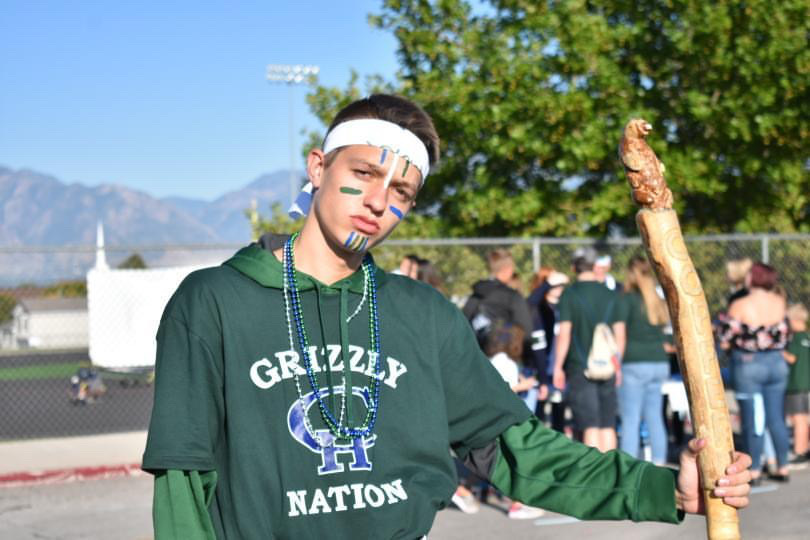 Spirit+and+Pride+SBO%2C+Jason+Holgate%2C+at+the+Homecoming+tailgate+++Photo+by+Dylan+Snook