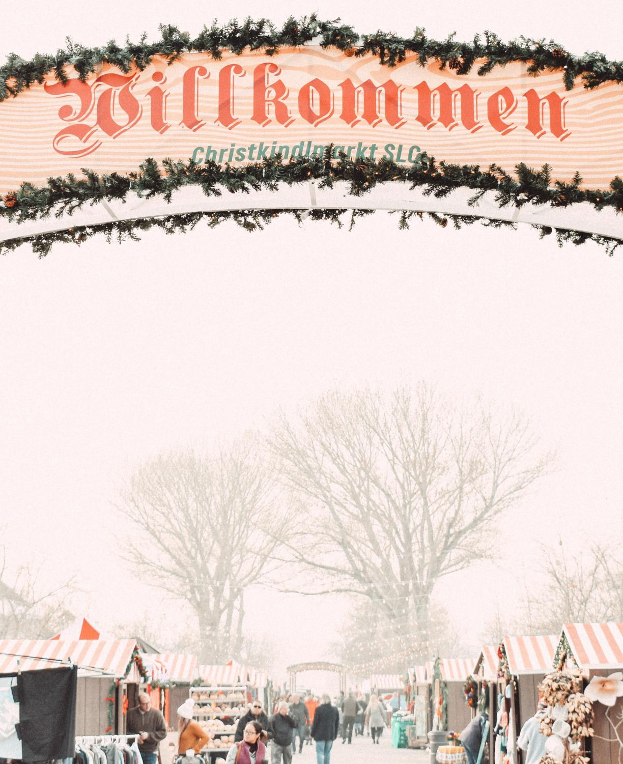 Christkindlmackt ran from December 4-7 at This is the Place Heritage Park