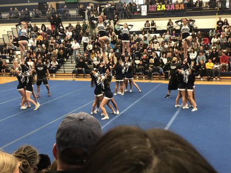Cheer Competition January 18